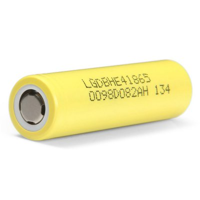 HE4 3.7V 2500mAh 18650 Rechargeable Lithium-ion BatteryBatteries<br>HE4 3.7V 2500mAh 18650 Rechargeable Lithium-ion Battery<br><br>Type: Battery<br>Battery Type: Lithium-ion<br>Rechargeable: Yes<br>Protected: No<br>Voltage(V): 3.7V<br>Charge Current: 20A<br>Max. Charge Voltage: 4.2 +/- 0.5V<br>Max. Charge Current: 4000mA<br>Suitable for: Microphone,Flashlight,Electronic Cigarette,Multimeter<br>Product weight: 0.046 kg<br>Package weight: 0.16 kg<br>Product size (L x W x H): 6.5 x 1.8 x 1.8 cm / 2.55 x 0.71 x 0.71 inches<br>Package size (L x W x H): 8 x 6 x 3 cm / 3.14 x 2.36 x 1.18 inches<br>Package Contents: 2 x HE4 18650 Battery