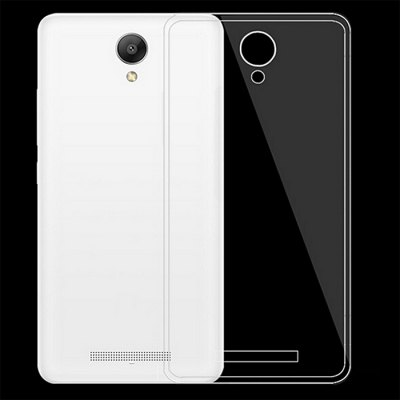 Transparent TPU Back Protective Cover Case for XiaoMi RedMi Note 2