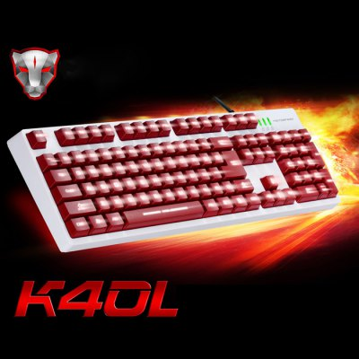 Motospeed K40L 104 Keys Gaming Keyboard