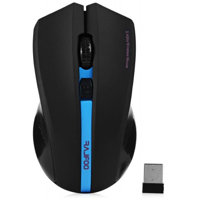 RAJFOO I8 2.4GHz Wireless Optical Mouse