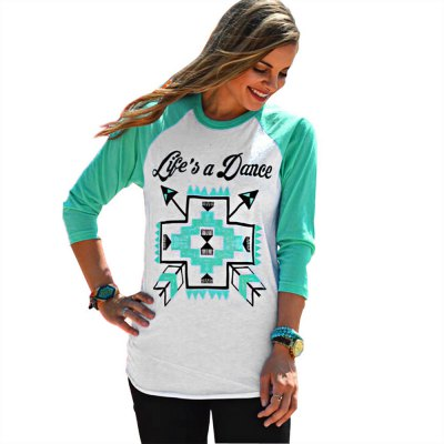 Graffiti Long Sleeve T Shirt