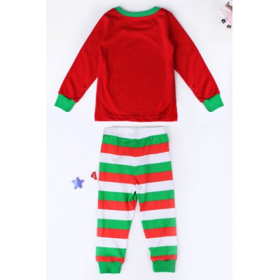 Stylish Round Neck Long Sleeve Christmas Tree Print T-Shirt + Striped Color Block Pants Kids TwinsetGirls Clothing<br>Stylish Round Neck Long Sleeve Christmas Tree Print T-Shirt + Striped Color Block Pants Kids Twinset<br><br>Material: Cotton Blend<br>Clothing Length: Regular<br>Sleeve Length: Full<br>Style: Fashion<br>Pattern Style: Floral<br>Weight: 0.400KG<br>Package Contents: 1 x T-Shirt  1 x Pants