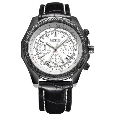 MEGIR 2007 Men Quartz Watch