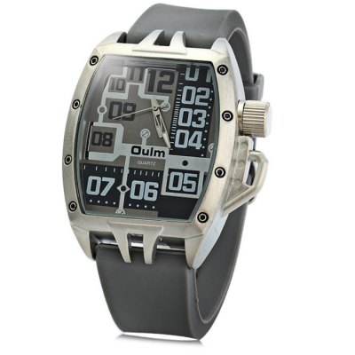 Oulm 3286 Sports Quartz Watch with Rubber Band for Men