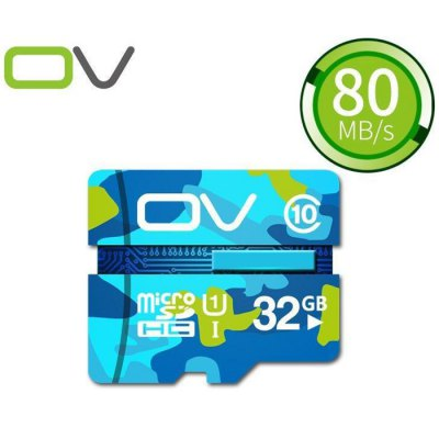 OV 32GB Micro SDHC Memory Card Camouflage Version