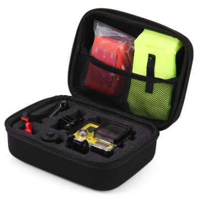 Kimi XMS001 Small Size EVA Shockproof Accessories Storage Carry Case for Action Camera