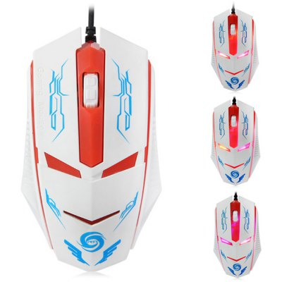 A883 Wired USB Optical Gaming Mouse