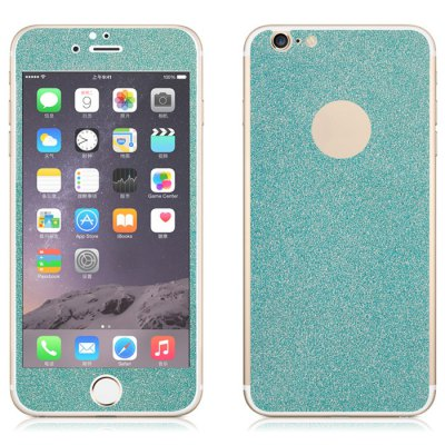 Angibabe Tempered Glass Front and Back Protector Film for iPhone 6 / 6S Shimmering Powder Design 0.3mm ThicknessIPhone Screen Protectors<br>Angibabe Tempered Glass Front and Back Protector Film for iPhone 6 / 6S Shimmering Powder Design 0.3mm Thickness<br><br>Compatible Phone Brand: Apple iPhone<br>Features: Anti scratch, Protect Screen, Anti fingerprint, High-definition<br>For: Cell Phone<br>Mainly Compatible with: iPhone 6S, iPhone 6<br>Material: Tempered Glass<br>Package Contents: 1 x Screen Protector Film, 1 x Back Protector Film, 1 x Alcohol Prep Pad<br>Package size (L x W x H): 18 x 9.6 x 0.7 cm / 7.07 x 3.77 x 0.28 inches<br>Package weight: 0.087 kg<br>Product weight: 0.019 kg<br>Surface Hardness: 9H<br>Thickness: 0.3mm<br>Type: Protective Film, Screen Protector