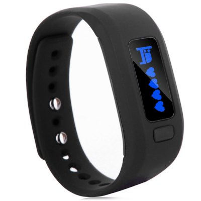 Moving up 2 Bluetooth Smart WristbandSmart Watches<br>Moving up 2 Bluetooth Smart Wristband<br><br>Alert type: Vibration<br>Band material: TPU<br>Battery Capacity: 60mAh<br>Bluetooth Version: Bluetooth 4.0<br>Case material: PC<br>Colors: Black,Blue,Green,Orange red,Purplish Red<br>Compatability: Android 4.3 / iOS 7.0 and above system<br>Compatible OS: IOS, Android<br>Functions: SMS Reminding, Sleep management, Time, Camera remote control, Call reminder, Avoid phone loss, Alarm Clock<br>Language: English<br>Package Contents: 1 x Moving up 2 Smart Wristwatch, 1 x Chinese and English Manual, 1 x USB Charging Clip<br>Package size (L x W x H): 10.00 x 8.00 x 3.00 cm / 3.94 x 3.15 x 1.18 inches<br>Package weight: 0.1600 kg<br>People: Unisex table<br>Product size (L x W x H): 25.00 x 2.10 x 1.00 cm / 9.84 x 0.83 x 0.39 inches<br>Product weight: 0.0200 kg<br>Screen: Yes<br>Screen type: OLED<br>Shape of the dial: Rectangle<br>Standby time: About 5 days<br>The dial diameter: 2.1 cm / 0.83 inches<br>The dial thickness: 1.0 cm / 0.39 inches<br>Waterproof: Yes<br>Waterproof Rating : Life water resistance