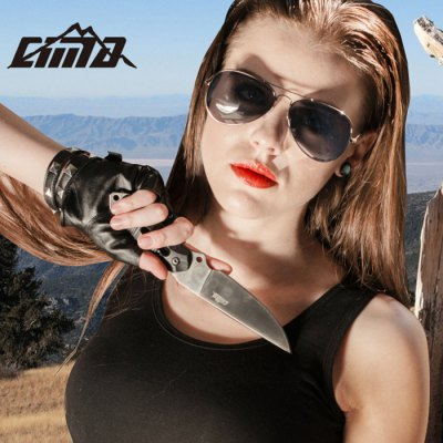 CIMA SK1 Fixed Blade Knife with 7Cr17Mov Stainless SteelFixed Blades Knives<br>CIMA SK1 Fixed Blade Knife with 7Cr17Mov Stainless Steel<br><br>Blade Length: 9.8cm<br>Blade Material: 7Cr17Mov Stainless Steel<br>Brand: CIMA<br>Color: Titanium Color, Steel Color<br>For: Camping, Hiking, Climbing, Home use, Mountaineering, Other Outdoor Sports, Adventure<br>Handle Material: G10 Stainless Steel<br>Package Contents: 1 x CIMA SK1 Fixed Blade Knife, 1 x Leather Sheath<br>Package Dimension: 24.00 x 5.50 x 2.50 cm / 9.45 x 2.17 x 0.98 inches<br>Package weight: 0.440 kg<br>Product Dimension: 22.00 x 3.30 x 0.50 cm / 8.66 x 1.3 x 0.2 inches<br>Product weight: 0.210 kg