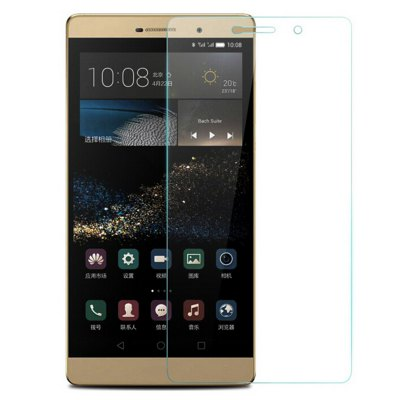 Tempered Glass Screen Protector for Huawei P8 Max 6.8 inchScreen Protectors<br>Tempered Glass Screen Protector for Huawei P8 Max 6.8 inch<br><br>Compatible Model: P8 MAX<br>Features: High Transparency, Ultra thin, High-definition, Anti fingerprint, Anti scratch, Protect Screen, Anti Glare<br>Mainly Compatible with: HUAWEI<br>Material: Tempered Glass<br>Package Contents: 1 x Steel Film, 1 x Dry Cloth, 1 x Damp Cloth, 1 x Dust Sticker<br>Package size (L x W x H): 20 x 11 x 1 cm / 7.86 x 4.32 x 0.39 inches<br>Package weight: 0.120 kg<br>Product Size(L x W x H): 18 x 9 x 0.026 cm / 7.07 x 3.54 x 0.01 inches<br>Product weight: 0.010 kg<br>Surface Hardness: 9H<br>Thickness: 0.26mm<br>Type: Screen Protector