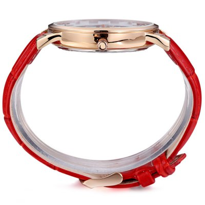 Skone 2731 Female Date Function Japan Quartz WatchWomens Watches<br>Skone 2731 Female Date Function Japan Quartz Watch<br><br>Available Color: Black,White,Red,Brown<br>Band material: Genuine Leather<br>Brand: MEGIR<br>Case material: Stainless Steel<br>Clasp type: Pin buckle<br>Display type: Analog<br>Movement type: Quartz watch<br>Package Contents: 1 x Skone 2731 Watch<br>Package size (L x W x H): 25.6 x 5.2 x 2 cm / 10.06 x 2.04 x 0.79 inches<br>Package weight: 0.104 kg<br>Product size (L x W x H): 24.6 x 4.2 x 1 cm / 9.67 x 1.65 x 0.39 inches<br>Product weight: 0.054 kg<br>Shape of the dial: Round<br>Special features: Date<br>Style: Fashion&amp;Casual<br>The band width: 1.8 cm / 0.71 inches<br>The dial diameter: 4.2 cm / 1.65 inches<br>The dial thickness: 1.0 cm / 0.39 inches<br>Watches categories: Female table<br>Water resistance : 30 meters