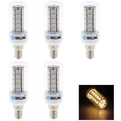 5 x BRELONG 7W 600Lm SMD 5730 E14 LED Corn Bulb