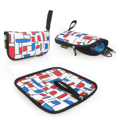 ENK-2003R1 2 in 1 Lattice Pattern Mouse Pad