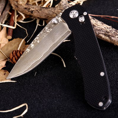 Enlan EL02D Axis Lock Folding KnifePocket Knives and Folding Knives<br>Enlan EL02D Axis Lock Folding Knife<br><br>Blade Edge Type: Fine<br>Blade Length: 9.5cm<br>Blade Length Range: 5cm-10cm<br>Blade Material: Damascus Steel<br>Blade Width : 2.8cm<br>Brand: Enlan<br>Clip Length: 7.3cm<br>Color: Black<br>For: Adventure, Home use, Travel, Mountaineering, Hiking, Camping<br>Handle Material: G10<br>Lock Type: Axis Lock<br>Model Number: EL05<br>Package Contents: 1 x Enlan EL05 Folding Knife<br>Package size (L x W x H): 13.4 x 4.6 x 1.9 cm / 5.27 x 1.81 x 0.75 inches<br>Package weight: 0.155 kg<br>Product size (L x W x H): 12 x 2.7 x 1.7 cm / 4.72 x 1.06 x 0.67 inches<br>Product weight: 0.126 kg<br>Unfold Length: 21.2cm<br>Weight Range: 101g-200g