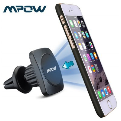 MPOW Grip Car Air Vent Phone Mount Holder Magnetic Absorption