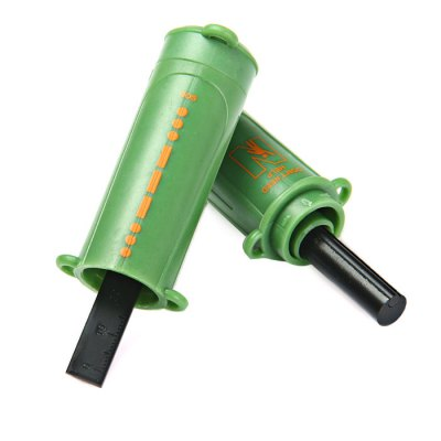 10A 5 in 1 Multi-purpose FlashlightFire Starter<br>10A 5 in 1 Multi-purpose Flashlight<br><br>Color: Black,Green<br>LED Quantity: 1 LED<br>Material: Plastic<br>Package Contents: 1 x Flashlight, 1 x Buckle, 1 x Lanyard<br>Package weight: 0.125 kg<br>Product weight: 0.071 kg<br>Type: Other Camping Gear