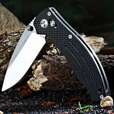 Enlan Bee EL-04 Folding Knife with Axis LockPocket Knives and Folding Knives<br>Enlan Bee EL-04 Folding Knife with Axis Lock<br><br>Blade Edge Type: Fine<br>Blade Length: 8.6 cm<br>Blade Length Range: 5cm-10cm<br>Blade Material: Stainless Steel<br>Blade Width : 2.9 cm<br>Brand: Enlan<br>Clip Length: 5.3 cm<br>Color: Black<br>For: Home use, Camping, Hiking, Adventure, Mountaineering, Travel<br>Handle Material: G10 Handle<br>Lock Type: Axis Lock<br>Package Contents: 1 x Enlan EL04 Folding Knife<br>Package size (L x W x H): 13.5 x 5 x 3 cm / 5.31 x 1.97 x 1.18 inches<br>Package weight: 0.182 kg<br>Product size (L x W x H): 11.7 x 3.8 x 1.8 cm / 4.60 x 1.49 x 0.71 inches<br>Product weight: 0.134 kg<br>Unfold Length: 20.3 cm<br>Weight Range: 101g-200g