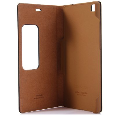 Original Huawei PU Leather Protective Cover Case for Huawei P8Cases &amp; Leather<br>Original Huawei PU Leather Protective Cover Case for Huawei P8<br><br>Color: Black,White,Transparent<br>Compatible Model: Huawei P8<br>Features: Full Body Cases, With View Window<br>Mainly Compatible with: HUAWEI<br>Material: PU Leather, Plastic<br>Package Contents: 1 x Case<br>Package size (L x W x H): 21 x 12 x 2 cm / 8.25 x 4.72 x 0.79 inches<br>Package weight: 0.140 kg<br>Product Size(L x W x H): 14.7 x 7.7 x 1.2 cm / 5.78 x 3.03 x 0.47 inches<br>Product weight: 0.062 kg<br>Style: Solid Color, Transparent