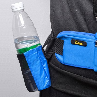Outdoor Water Bottle Pouch with Water Resistant Layer
