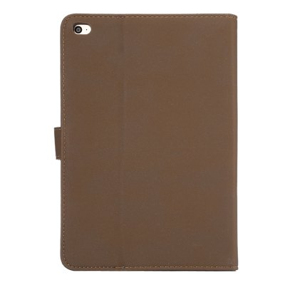ENKEY PU Leather Protective Cover Case for iPad Mini 4iPad Cases/Covers<br>ENKEY PU Leather Protective Cover Case for iPad Mini 4<br><br>Brand: ENKAY<br>Color: Black,Brown,Coffee<br>Compatible for Apple: iPad mini 4<br>Features: Auto Sleep / Wake up, Cases with Stand, Full Body Cases, With Credit Card Holder<br>Material: PU Leather<br>Package Contents: 1 x Protective Case<br>Package size (L x W x H): 24.00 x 16.00 x 3.00 cm / 9.45 x 6.3 x 1.18 inches<br>Package weight: 0.240 kg<br>Product size (L x W x H): 20.70 x 14.10 x 1.80 cm / 8.15 x 5.55 x 0.71 inches<br>Product weight: 0.150 kg<br>Style: Solid Color