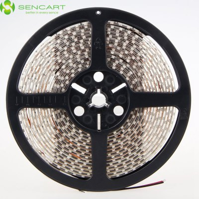 SENCART 5M 60 SMD 2835 / M Waterproof Flexible LED Ribbon Light StripLED Strips<br>SENCART 5M 60 SMD 2835 / M Waterproof Flexible LED Ribbon Light Strip<br><br>Actual Lumens: 1600Lm<br>Brand: Sencart<br>CCT/Wavelength: 3000-3500K,6000-6500K,6500K<br>Chip Brand: Epistar<br>Connector Type: Wired<br>Features: Low Power Consumption, Waterproof, Cuttable, IP-65<br>Input Voltage: DC12<br>LED Type: SMD-2835<br>Length: 5m<br>Material: Silicone<br>Model: 5M2835F<br>Number of LEDs: 60 SMD 2835 / M<br>Optional Light Color: White,Red,Blue,Green,Yellow,Warm White,Cool White<br>Package Contents: 1 x LED Light Strip<br>Package size (L x W x H): 16 x 2 x 2 cm / 6.29 x 0.79 x 0.79 inches<br>Package weight: 0.230 kg<br>Product size (L x W x H): 500 x 0.8 x 0.3 cm / 196.50 x 0.31 x 0.12 inches<br>Product weight: 0.150 kg<br>Theoretical Lumens: 2700Lm<br>Type: LED Strip