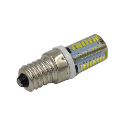 4PCS 4W E14 SMD 3014 210Lm LED Corn Bulb Light ( 6000K )LED Bi-pin Lights<br>4PCS 4W E14 SMD 3014 210Lm LED Corn Bulb Light ( 6000K )<br><br>Angle: 360<br>Available Light Color: White,Warm White<br>CCT/Wavelength: 3000K,6000K<br>Emitter Types: SMD 3014<br>Features: Long Life Expectancy, Energy Saving<br>Function: Commercial Lighting, Studio and Exhibition Lighting, Home Lighting<br>Holder: E14<br>Luminous Flux: 210Lm<br>Output Power: 4W<br>Package Contents: 4 x LED Corn Light<br>Package size (L x W x H): 15 x 9 x 2.8 cm / 5.90 x 3.54 x 1.10 inches<br>Package weight: 0.110 kg<br>Product size (L x W x H): 5.3 x 1.8 x 1.8 cm / 2.08 x 0.71 x 0.71 inches<br>Product weight: 0.010 kg<br>Sheathing Material: Silicone<br>Total Emitters: 64<br>Type: Corn Bulbs<br>Voltage (V): AC 220