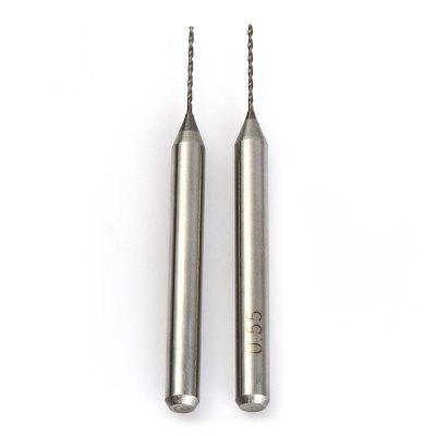 2PCS 0.55mm Drill BitDrill<br>2PCS 0.55mm Drill Bit<br><br>Bit Size: 0.55mm<br>Color: Silver<br>Material: Hard Alloy<br>Package Contents: 2 x 0.55mm Drill Bit<br>Package size (L x W x H): 6.4 x 1.6 x 0.7 cm / 2.52 x 0.63 x 0.28 inches<br>Package weight: 0.024 kg<br>Product size (L x W x H): 3.9 x 0.4 x 0.4 cm / 1.53 x 0.16 x 0.16 inches<br>Product weight: 0.003 kg<br>Special function: Drilling<br>Type: Bit