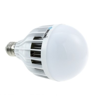 Brelong 1200LM E27 5630 15W LED Bulb Light LampGlobe bulbs<br>Brelong 1200LM E27 5630 15W LED Bulb Light Lamp<br><br>Available Light Color: Warm White,White<br>Brand: BRELONG<br>CCT/Wavelength: 3000-3500K,6000-6500K<br>Emitter Types: SMD 5630<br>Features: Low Power Consumption, Long Life Expectancy, Energy Saving<br>Function: Studio and Exhibition Lighting, Home Lighting, Commercial Lighting<br>Holder: E27<br>Luminous Flux: 1200Lm<br>Output Power: 15W<br>Package Contents: 1 x Globe Bulb<br>Package size (L x W x H): 10.30 x 10.30 x 17.00 cm / 4.06 x 4.06 x 6.69 inches<br>Package weight: 0.2200 kg<br>Product size (L x W x H): 9.30 x 9.30 x 16.00 cm / 3.66 x 3.66 x 6.3 inches<br>Product weight: 0.1650 kg<br>Sheathing Material: Plastic<br>Total Emitters: 30pcs<br>Type: Ball Bulbs<br>Voltage (V): AC 220-240