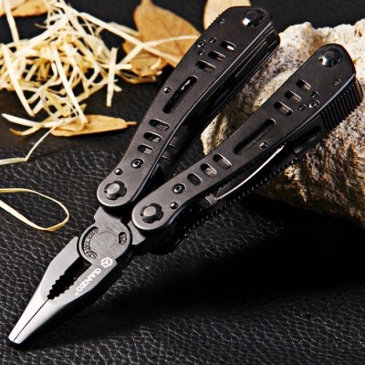 Ganzo G103 Folding Pliers with 10pcs Screwdriver BitsMultitools<br>Ganzo G103 Folding Pliers with 10pcs Screwdriver Bits<br><br>Blade Edge Type: Fine, Serrated<br>Blade Material: Stainless Steel<br>Brand: GANZO<br>Color: Black<br>Fold Length: 10.4 cm<br>For: Travel, Other Outdoor Activities, Mountaineering, Motorcycle, Home use, Hiking, Daily Use, Cycling, Collecting, Climbing, Adventure, Camping<br>Material: Stainless Steel<br>Package Contents: 1 x Ganzo G103 Pliers, 10 x Screwdriver Bit, 1 x Nylon Sheath<br>Package size (L x W x H): 14.50 x 9.00 x 6.00 cm / 5.71 x 3.54 x 2.36 inches<br>Package weight: 0.410 kg<br>Product size (L x W x H): 10.40 x 5.00 x 1.60 cm / 4.09 x 1.97 x 0.63 inches<br>Product weight: 0.252 kg<br>Type: Multitools<br>Unfold Length: 16.5 cm<br>Weight Range: 201g-500g
