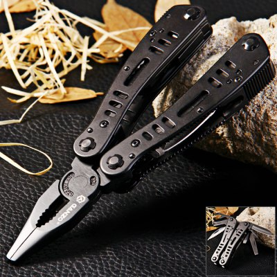 Ganzo G103 Folding Pliers with 10pcs Screwdriver Bits