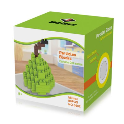 WLtoys 90 Pcs Pear Building Block 6602 IQ TrainingBlock Toys<br>WLtoys 90 Pcs Pear Building Block 6602 IQ Training<br><br>Age: 9 Years+<br>Applicable gender: Unisex<br>Brand: WLtoys<br>Design Style: Geometric Shape<br>Features: Educational<br>Material: ABS<br>Package Contents: 90 x Block<br>Package size (L x W x H): 7.00 x 7.00 x 7.00 cm / 2.76 x 2.76 x 2.76 inches<br>Package weight: 0.107 kg<br>Product Model: 6602<br>Puzzle Style: 3D Puzzle<br>Small Parts : Yes<br>Type: Building Blocks<br>Washing: Yes