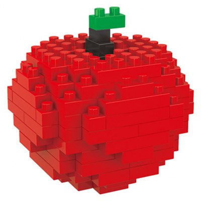 WLtoys 110 Pcs Apple Building Block 6603 IQ Training