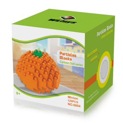 WLtoys 80 Pcs Orange Building Block 6604 IQ TrainingBlock Toys<br>WLtoys 80 Pcs Orange Building Block 6604 IQ Training<br><br>Age: 9 Years+<br>Applicable gender: Unisex<br>Brand: WLtoys<br>Design Style: Geometric Shape<br>Features: Educational<br>Material: ABS<br>Package Contents: 80 x Block<br>Package size (L x W x H): 7.00 x 7.00 x 7.00 cm / 2.76 x 2.76 x 2.76 inches<br>Package weight: 0.107 kg<br>Product Model: 6604<br>Puzzle Style: 3D Puzzle<br>Small Parts : Yes<br>Type: Building Blocks<br>Washing: Yes
