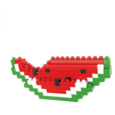 WLtoys 90 Pcs Watermelon Building Block 6606 IQ Training