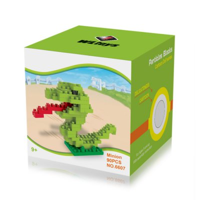 WLtoys 90 Pcs Snake Building Block 6607 IQ TrainingBlock Toys<br>WLtoys 90 Pcs Snake Building Block 6607 IQ Training<br><br>Age: 9 Years+<br>Applicable gender: Unisex<br>Brand: WLtoys<br>Design Style: Animal<br>Features: Educational<br>Material: ABS<br>Package Contents: 90 x Block<br>Package size (L x W x H): 7 x 7 x 7 cm / 2.75 x 2.75 x 2.75 inches<br>Package weight: 0.04 kg<br>Product Model: 6607<br>Puzzle Style: 3D Puzzle<br>Small Parts : Yes<br>Type: Building Blocks<br>Washing: Yes