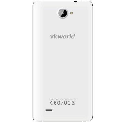 VKWORLD VK700X 3G SmartphoneCell phones<br>VKWORLD VK700X 3G Smartphone<br><br>2G: GSM 850/900/1800/1900MHz<br>3G: WCDMA 850/2100MHz<br>Additional Features: E-book, Calendar, Calculator, Browser, Bluetooth, Alarm, 3G, FM, GPS, MP3, MP4, People, Sound Recorder, Wi-Fi<br>Back-camera: 5.0MP (SW8.0MP)<br>Battery: 1<br>Battery Capacity (mAh): 1 x 2200mAh<br>Battery Type: Li-ion Battery<br>Brand: VKWORLD<br>Camera type: Dual cameras (one front one back)<br>Cell Phone: 1<br>Cores: 1.3GHz, Quad Core<br>CPU: MTK6580<br>E-book format: TXT, PDF<br>English Manual : 1<br>External Memory: TF card up to 32GB (not included)<br>Flashlight: Yes<br>Front camera: 2.0MP (SW5.0MP)<br>Google Play Store: Yes<br>GPU: Mali-400 MP<br>I/O Interface: 1 x Micro SIM Card Slot, 1 x Standard SIM Card Slot, 3.5mm Audio Out Port, TF/Micro SD Card Slot, Micro USB Slot<br>Language: English, French, Spanish, Russian, German, Italian, Portuguese<br>Music format: AAC, MP3, WAV<br>Network type: GSM+WCDMA<br>OS: Android 5.1<br>Package size: 18.00 x 12.00 x 6.00 cm / 7.09 x 4.72 x 2.36 inches<br>Package weight: 0.500 kg<br>Picture format: PNG, BMP, GIF, JPEG<br>Power Adapter: 1<br>Product size: 14.20 x 7.00 x 0.72 cm / 5.59 x 2.76 x 0.28 inches<br>Product weight: 0.170 kg<br>RAM: 1GB RAM<br>ROM: 8GB<br>Screen Protector: 1<br>Screen resolution: 1280 x 720 (HD 720)<br>Screen size: 5.0 inch<br>Screen type: Capacitive, IPS<br>Sensor: Ambient Light Sensor,Gravity Sensor,Proximity Sensor<br>Service Provider: Unlocked<br>SIM Card Slot: Dual SIM, Dual Standby<br>SIM Card Type: Standard SIM Card, Micro SIM Card<br>Sound Recorder: Yes<br>Type: 3G Smartphone<br>USB Cable: 1<br>Video format: MP4, AVI, 3GP<br>Video recording: Yes<br>WIFI: 802.11b/g/n wireless internet<br>Wireless Connectivity: Bluetooth, A-GPS, 3G, GPS, GSM, WiFi