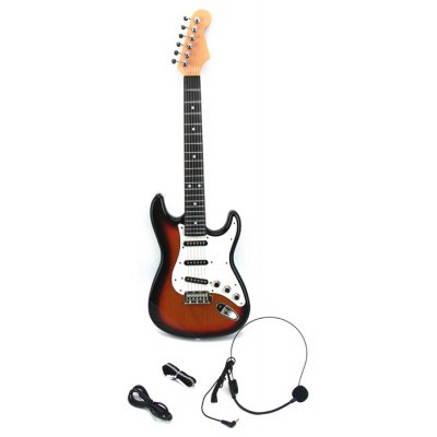 Educational RENDA Simulation 800578 Guitar Set Musical Toy for Improving Children Comprehension Skill
