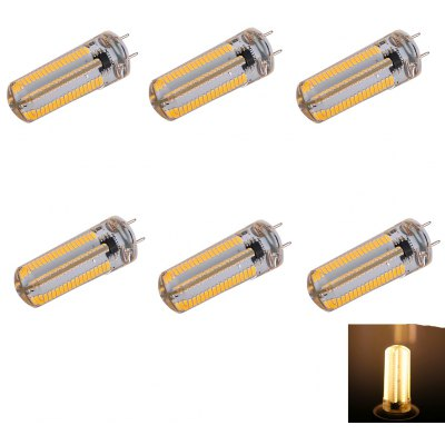 6PCS G8 10W 1050LM SMD 3014 Dimmable LED Corn Bulb