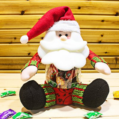 Santa Claus Candy Jar for Christmas Gift