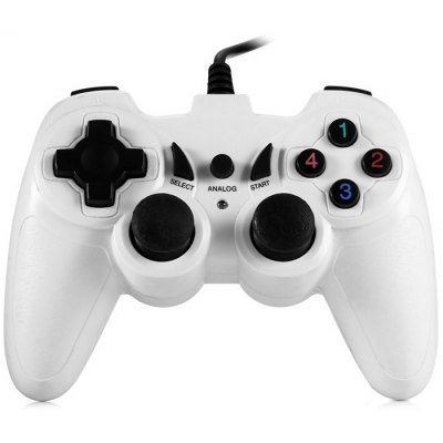 USB-K228 USB 1.0 / 2.0 / 1.1 Wired Game Vibration Controller