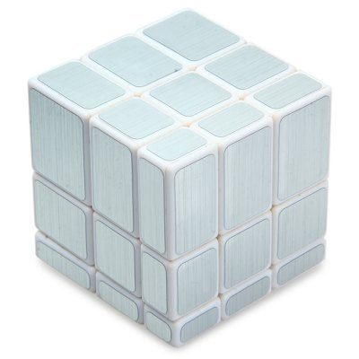 Irregular Magic Cube 58MM 3 x 3 x 3 IQ Puzzle Game Toy Solid Color