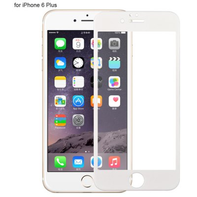 Angibabe Tempered Glass Screen Protector Film for iPhone 6 Plus Color CNF 9H 0.3mm 3D Arc Anti-explosion High Transparency Ultra-thin