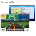 8GB Micro SD Card with GPS Map for WinCE Car System