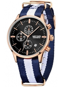 MEGIR 2011 Male Japan Quartz Watch
