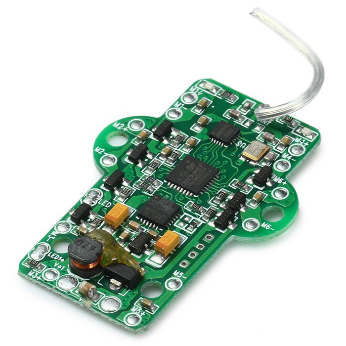 Extra Spare Receiver Board Fitting WLtoys Q282 - G Remote Control Hexacopter GREEN
