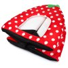 Plush Strawberry Pet Bed for sale