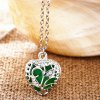 cheap Sweet Luminous Heart Necklace For Women