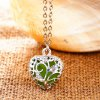Sweet Luminous Heart Necklace For Women deal