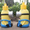 600ML 3D Carton Minions Style Vacuum Cup for sale